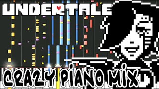 Crazy Piano Mix! DEATH BY GLAMOUR [Undertale]