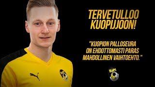 Rasmus Karjalainen kovin tavoittein Kuopioon