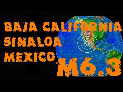 M6.3 GOLFO DE BAJA CALIFORNIA SUR MEXICO ACTUALIZACION REPSOL ENE 19 2018