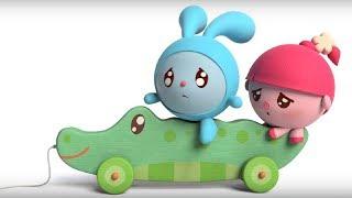 Малышарики - Обучающий мультик для малышей - Все серии про Вежливость -  сборник