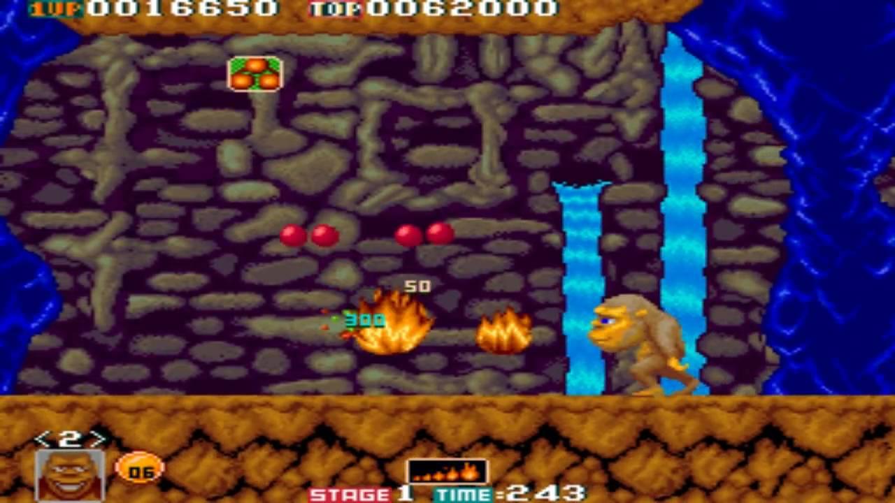 Download [HD] Toki Stage 1-2 1989 Tad Corporation Mame Retro Arcade Games
