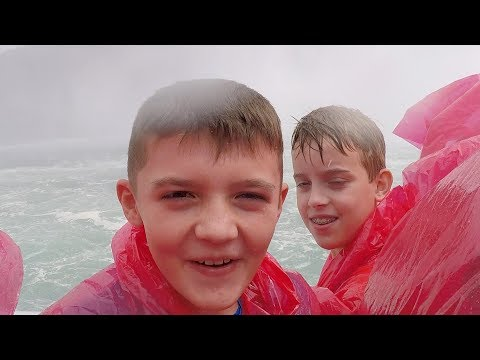 Getting Soaked at Niagara Falls