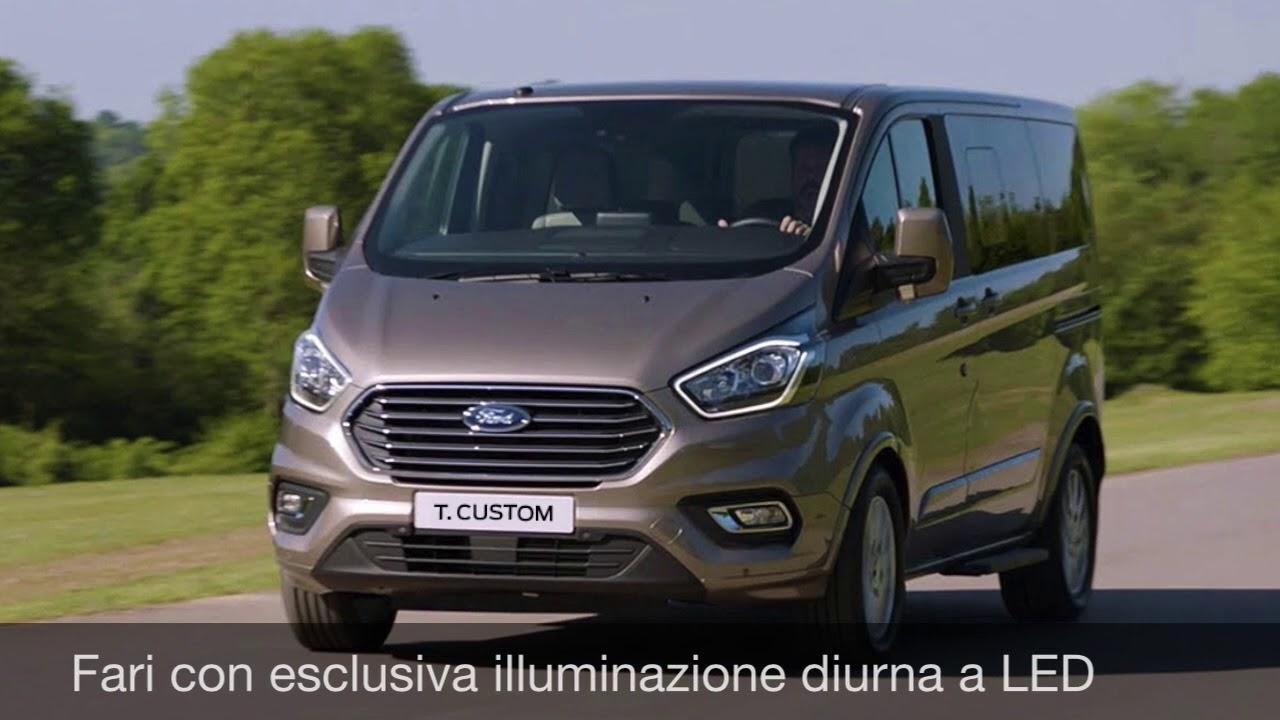 Nouveau Ford Transit Custom >> Nuovo Ford Tourneo Custom Youtube