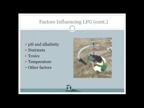 Gas Monitoring at Landfills - Why do we monitor? What do we monitor and how?