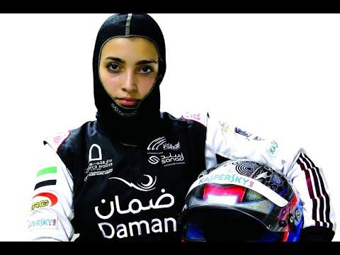 أول امرأة عربية تشارك في اختبار الفورمولا  - 08:56-2018 / 11 / 21
