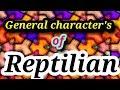 Reptilia general characters