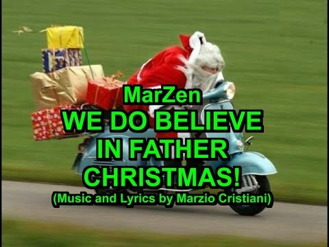 We do believe in Father Christmas - Karaoke - A new Christmas Song - MarZen