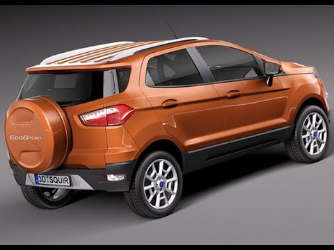 ford ecosport facelift 2016 first look india exterior interior review youtube. Black Bedroom Furniture Sets. Home Design Ideas