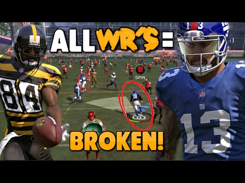 FULL TEAM OF WIDE RECEIVERS CRUSHES THE GAUNTLET!! Madden 17 Gauntlet Challenge