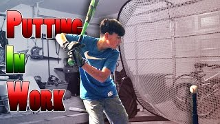 PUTTING IN WORK ON THE TEE | ERIKTV365 (Day #2379)