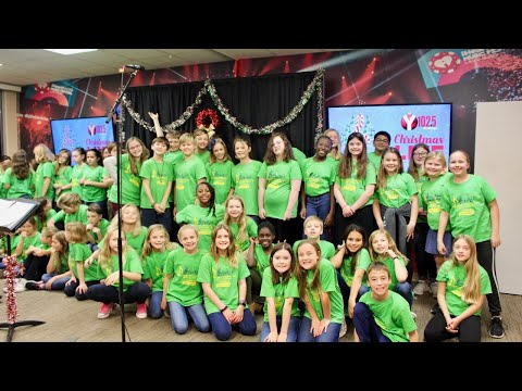 Y102.5 Christmas Live with Jennie Moore Elementary School