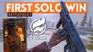 FIRST SOLO WIN! - Battlefield 5 FIRESTORM 🔥 (Battle Royale Gameplay)