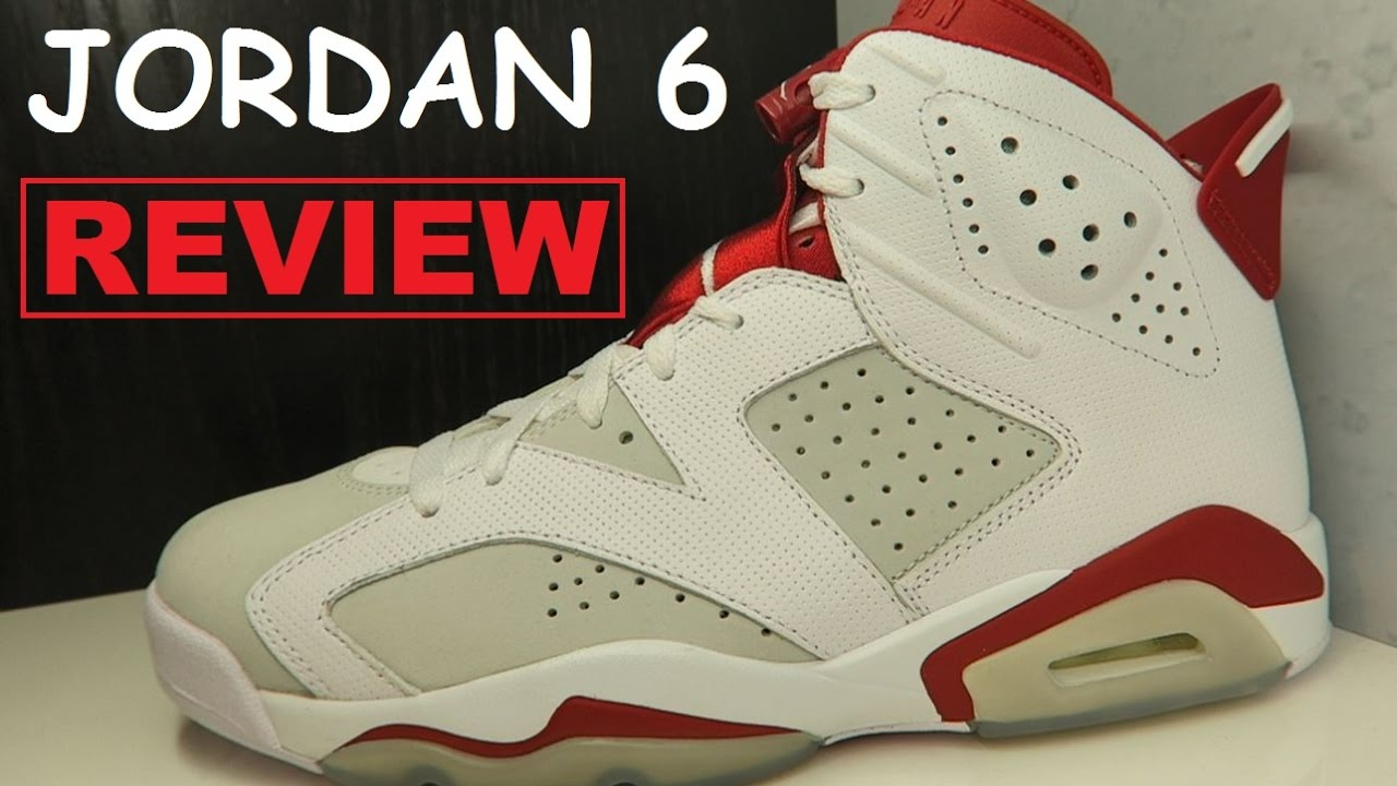 7f091ed22bd88f Air Jordan 6 VI Alternate  Hare  Retro Sneaker Honest Review With ...