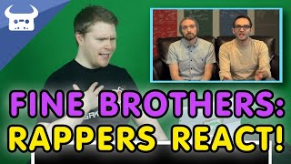 RAPPER REACTS TO THE FINE BROTHERS | Dan Bull