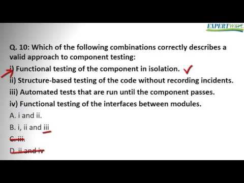 ISTQB Fundation answers to exam questions 8 to 10