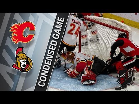 Calgary Flames vs Ottawa Senators – Mar. 09, 2018 | Game Highlights | NHL 2017/18. Обзор