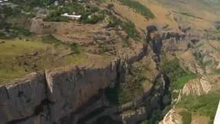 Карабах вид из самолета  Арцах