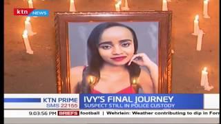 Send-off Vigil of Ivy Wangeci underway in Nyeri, ahead of her burial tomorrow
