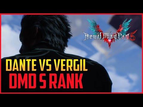DMC5 ▰ Dante Vs Vergil - DMD S Rank   【Devil May Cry 5】