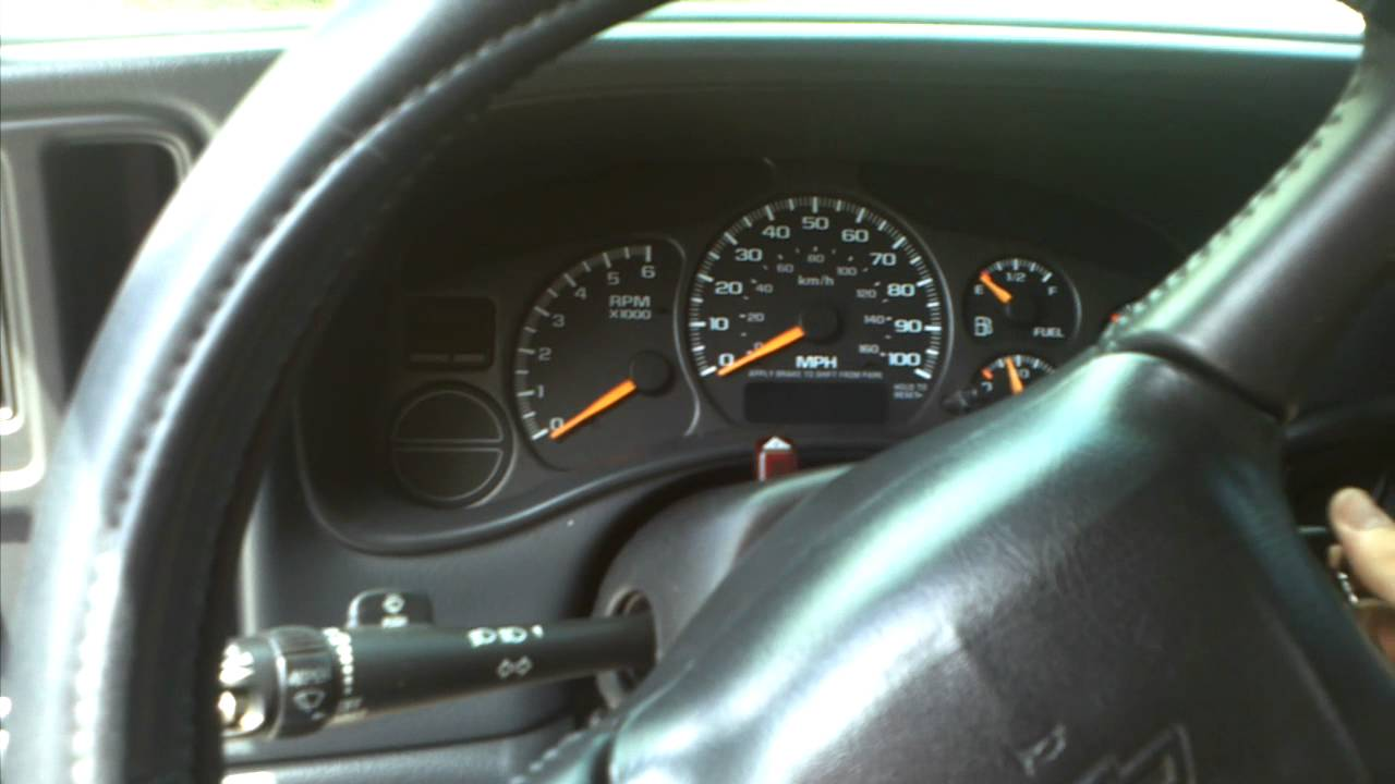 Silverado 2003 chevy silverado dash cluster How to remove dash trim on 99-06 Silverado - YouTube