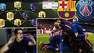 fifa 17 fc barcelona gewinnt 6 1 gegen psg in der champions league sensation full barca squad