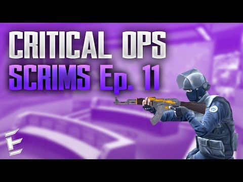 Critical Ops Scrims Ep. 11 | Against Team Valor | 12-12 CLOSE MATCH!