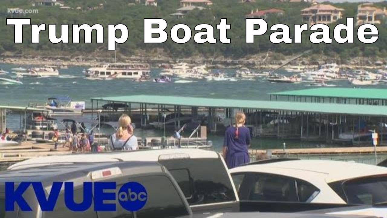 Several Boats Sink at Trump Parade on Lake Travis