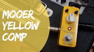 Mooer Yellow Comp Compressor - Quick Play Demo (All Tone, No Chat)