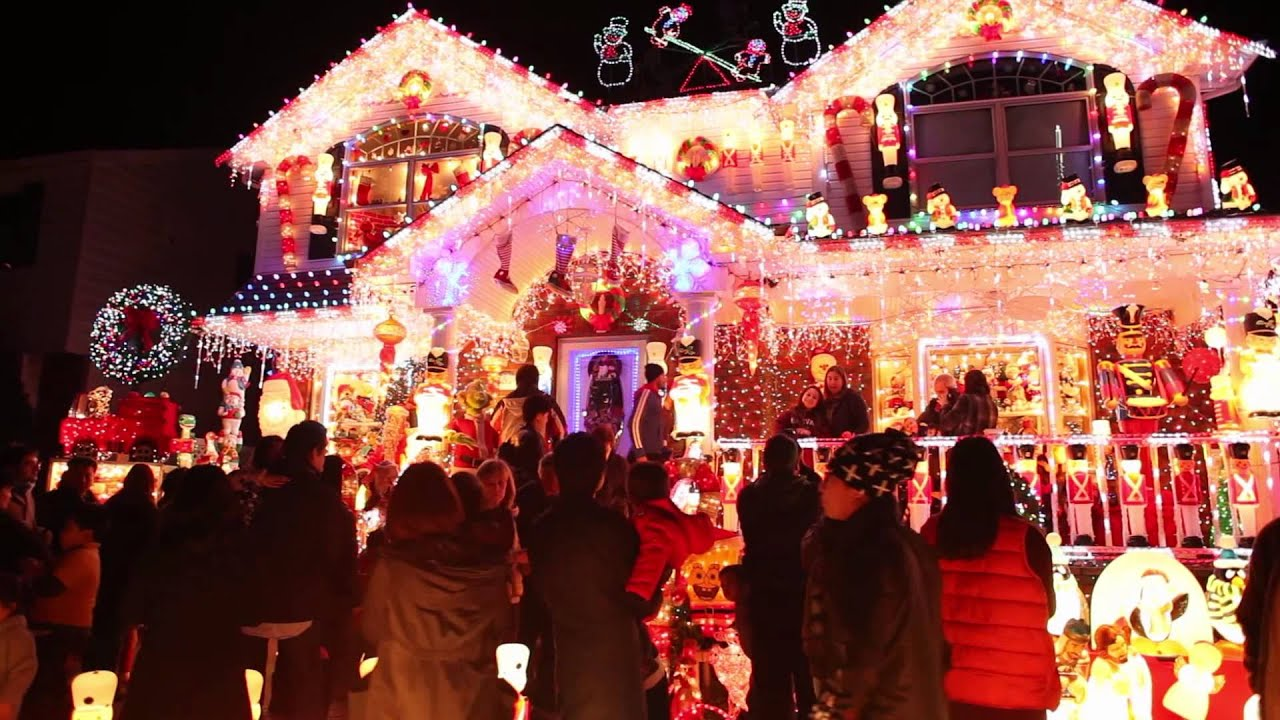 Christmas Lights House Whitestone Ny
