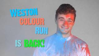 Weston Colour Run - get your kit dirty