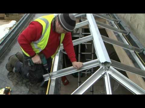 Solar Roof Systems Skypod Installation Video
