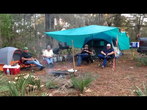 Camping in Ocala National Forest March 2016