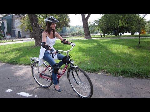 =Как научиться кататься ездить на велосипеде на первом занятии?=