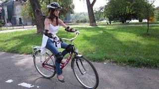 =Как научиться кататься ездить на велосипеде на первом занятии?=(Как научиться ездить на велосипеде на первом занятии?= Всем привет! Дарья (5 лет) учится кататься на двухколе..., 2016-07-22T06:08:00.000Z)