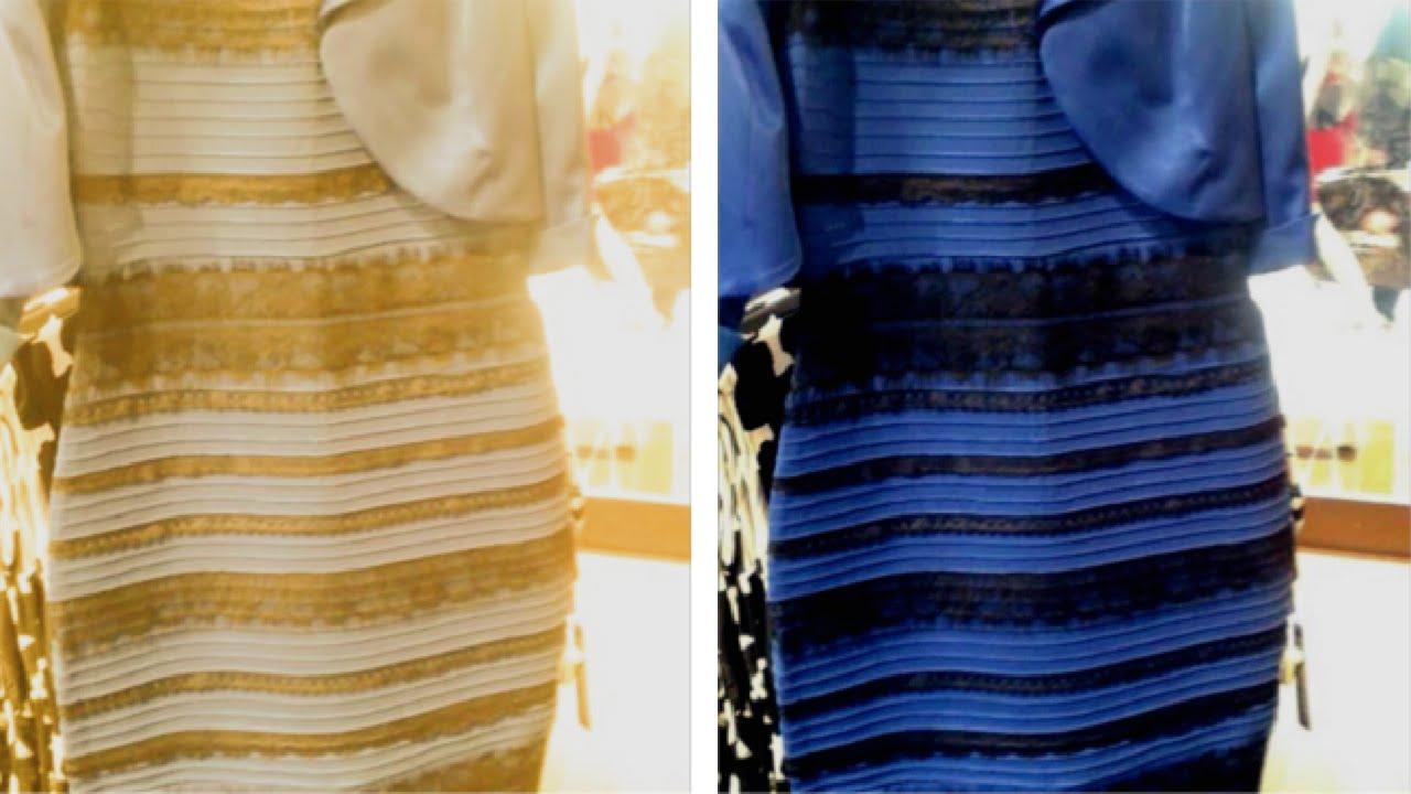 قصة الفستان الذي حير العالم The Dress Nav Youtube