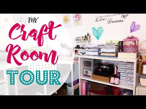 Craft Room Tour! - Il mio Angolo Creativo! 2017