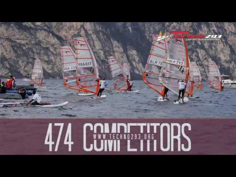 BIC TECHNO 293 Worlds Garda 2016 - Highlights