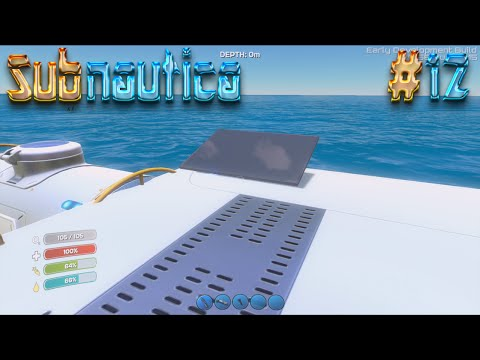 Let's Play Subnautica - Episode 12: Above Water Solar Platform?!