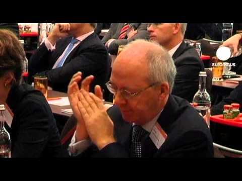 Deutsche Bank boss warns crisis could kill weak banks