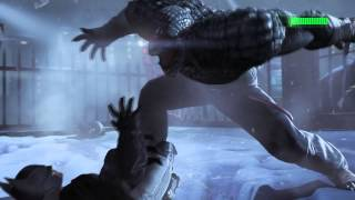 Batman Arkham Origins- Batman vs Killer Croc