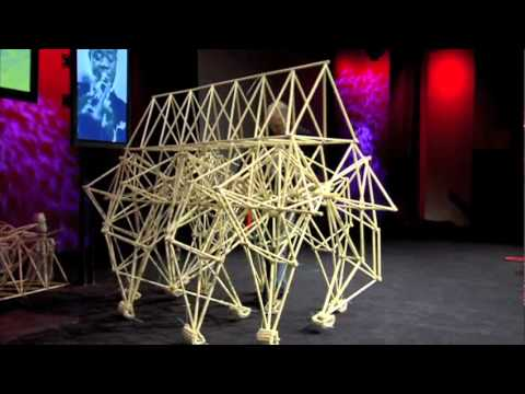 Theo Jansen creates new creatures