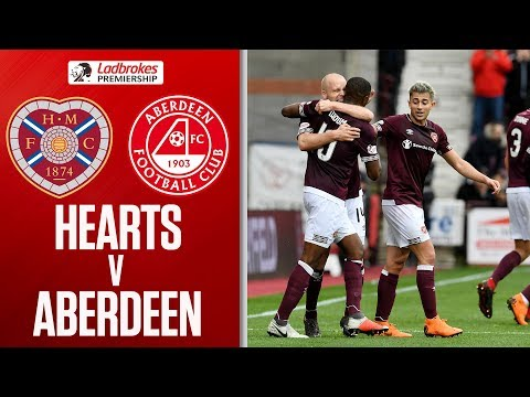 Hearts 2-1 Aberdeen | Jambos Stay Top Of The League! | Ladbrokes Premiership