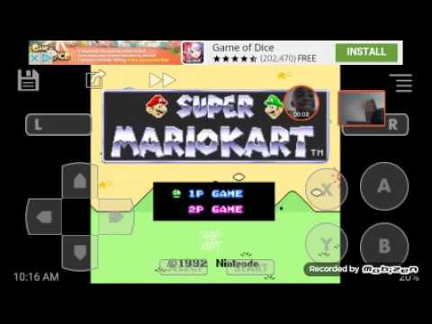 THE BUTTONS|Super Mario kart