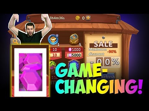 JT's NEW F2P Discount Store Comes Up HUGE! Castle Clash