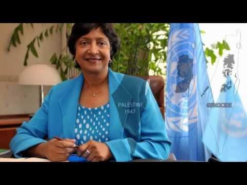 """Crimes de guerre à Gaza La Haut-Commissaire aux droits de l'homme """" Navi Pillay """""""