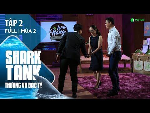 Startup Nông Sản Hữu Cơ Bất Ngờ Nhận Đầu Tư 10 Tỷ   Shark Tank Việt Nam Tập 2 - Mùa 2 [Official]