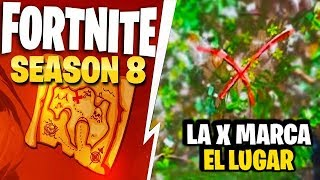 SECRET TREASURE FOUND IN THE FIRST TEASER *SEASON 8 FORTNITE FILTRATED*