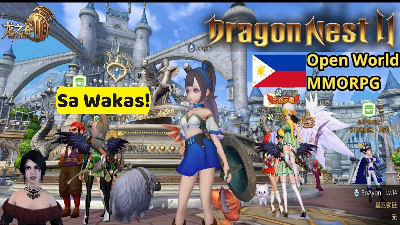 Download Dragon Nest 2 Sa Wakas!  (Open World MMORPG) Tencent Gameplay Review Ph
