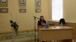 Мария Галина. Встреча с читателями на ''Тверском переплете''