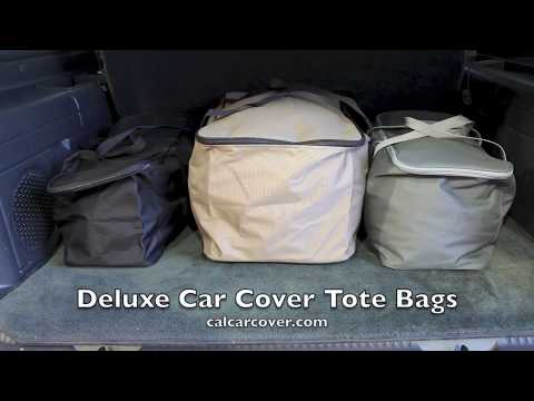 Size Small New California Car Cover Deluxe Black Duffel Bag for Cover Storage